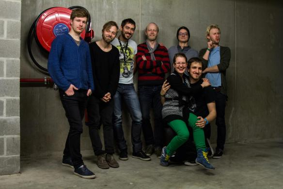 Ewert and the Two Dragons and crew