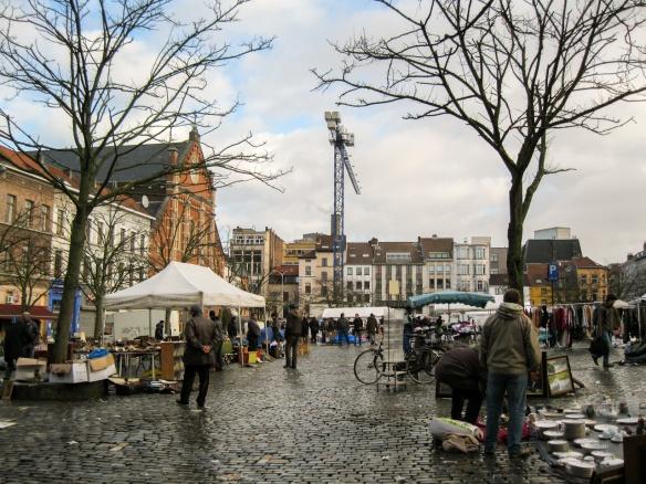 Place du Jeu de Balle / Vossenplein